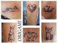 marko-tattoo-inked-origami-animaux-1